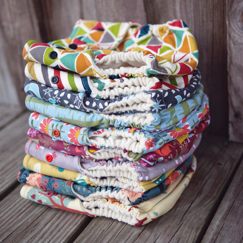 SECONDS! One-size Organic Wool Wrap Covers - One Love Diaper Co.
