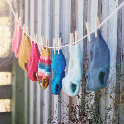 Hand-knit Organic Wool Soakers - One Love Diaper Co.