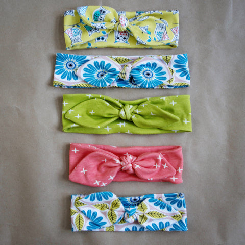 Organic Knot Headbands - One Love Diaper Co.