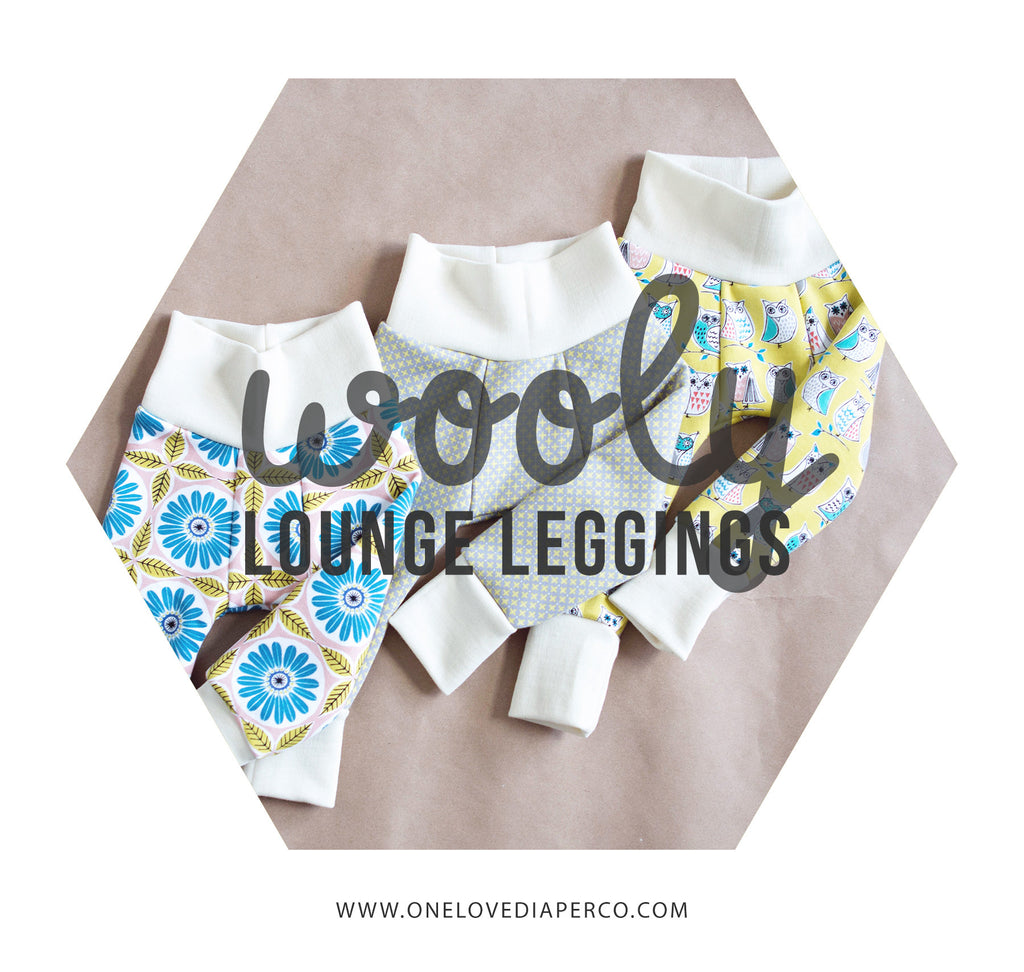 Wooly Lounge Leggings - One Love Diaper Co.