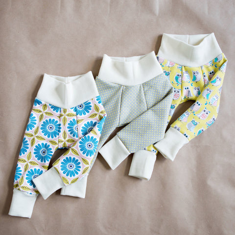 Wooly Lounge Leggings - SIZE 9-12 MONTHS - One Love Diaper Co.