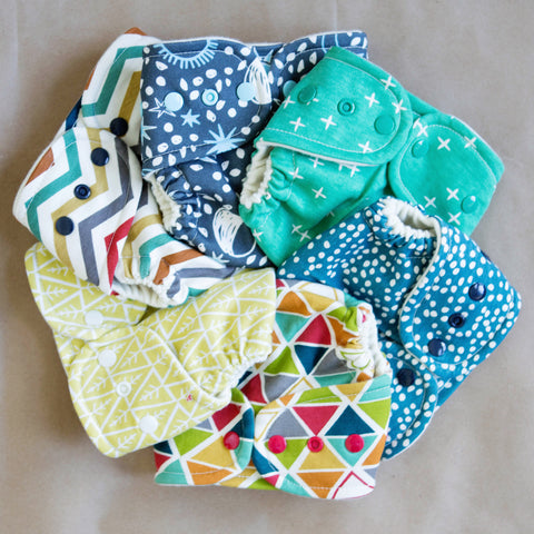 Newborn Organic Wool Wrap Diaper Covers - One Love Diaper Co.
