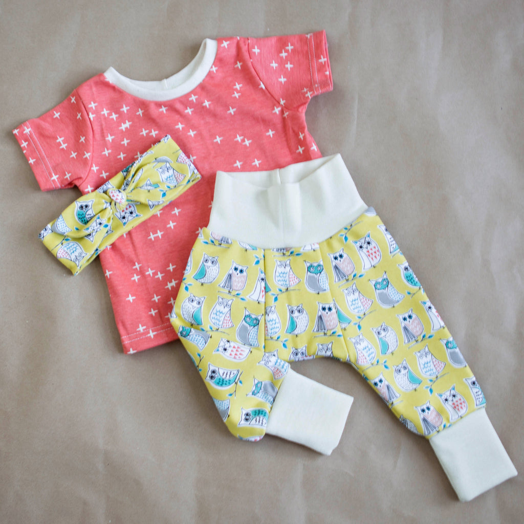 Wooly Lounge Leggings - SIZE 9-12 MONTHS