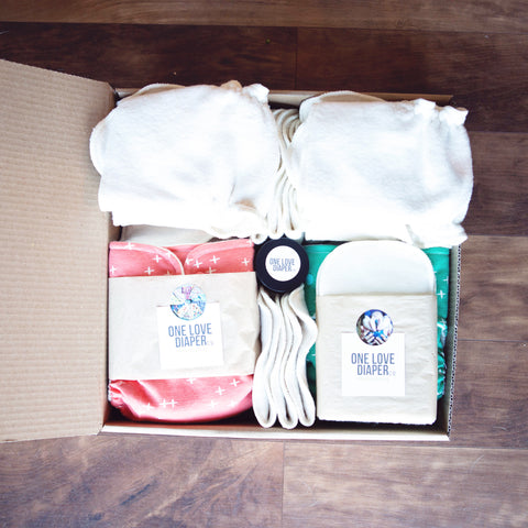 SLOT 1 - CUSTOM ORDER - FULL TIME WI2 Bundle! - One Love Diaper Co.