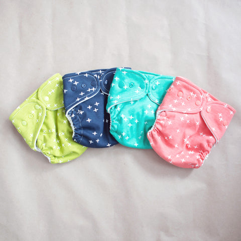 Ready to Ship! Wink Collection - One-size Organic Wool Wrap Covers - One Love Diaper Co.