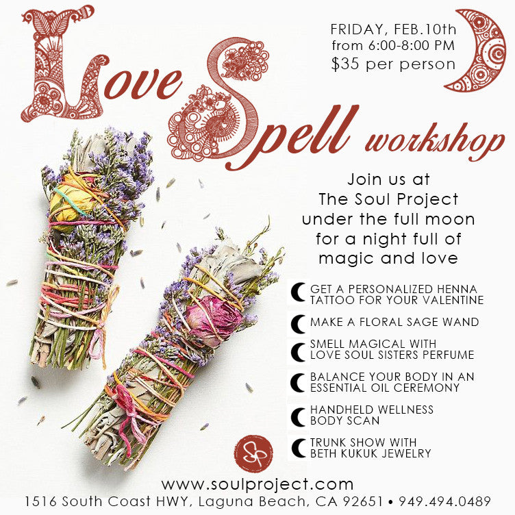 Love Spell Workshop & Trunk Show