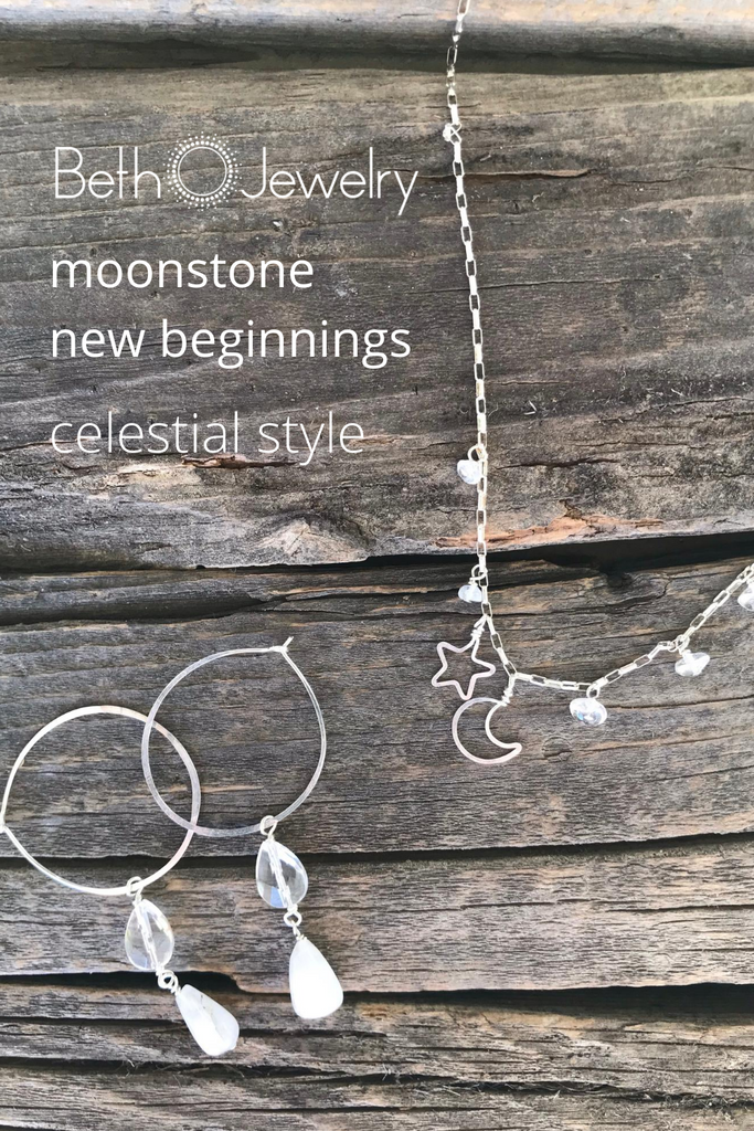 The Magic of the Moon in Delicate Hoops and More
