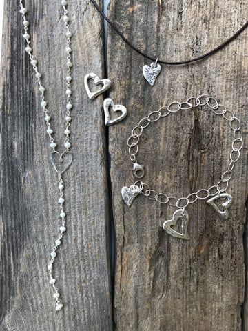 Harvest Charm heart collection