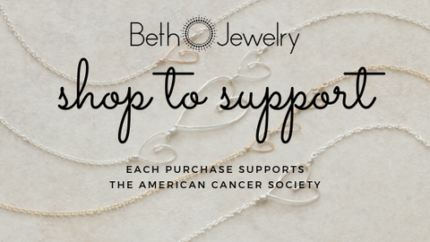 Beth Jewelry supports the American Cancer Society