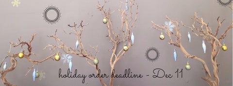 Beth Jewelry Holiday 2017 order deadline