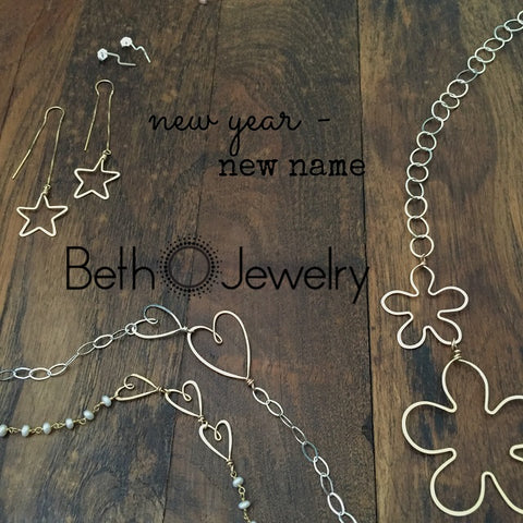 new year - new name 'Beth Jewelry'
