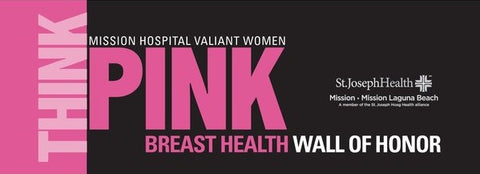 Think Pink Wall of Honor image