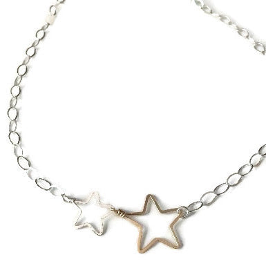 2 Stars Necklace