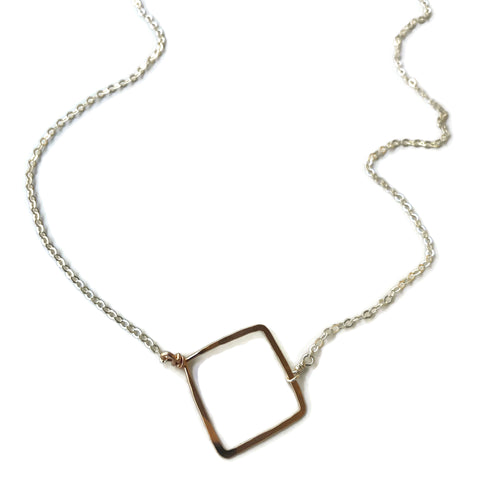 Medium Square Necklace