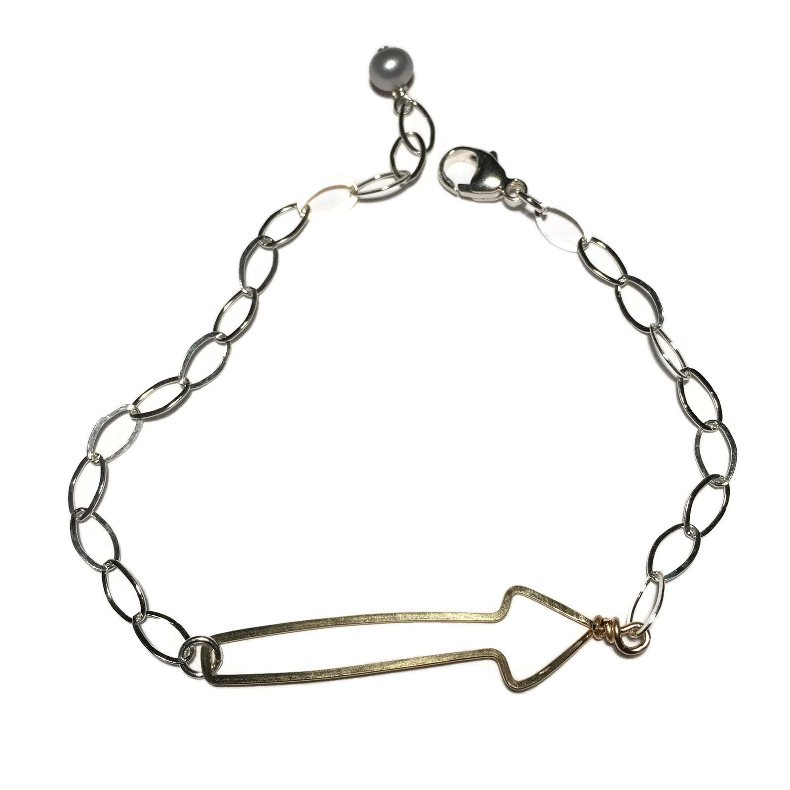 bracelet follow chupi gold arrow products in dreams your