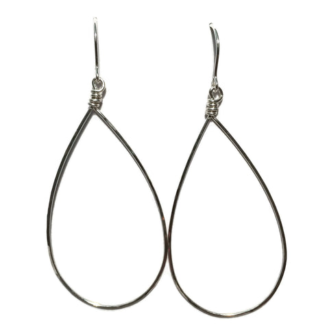 Big Teardrop Earrings