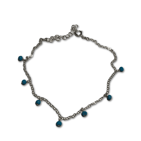 Delicate Beaded Anklet