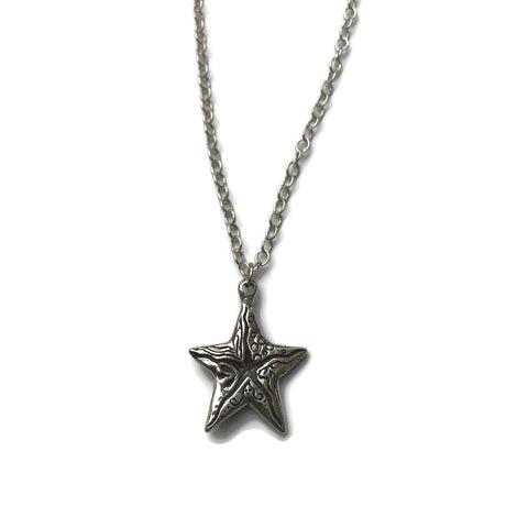 harvest charm hand-sculpted starfish pendant