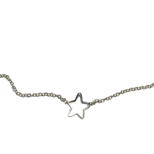Beth Jewelry, handmade tiny star necklace