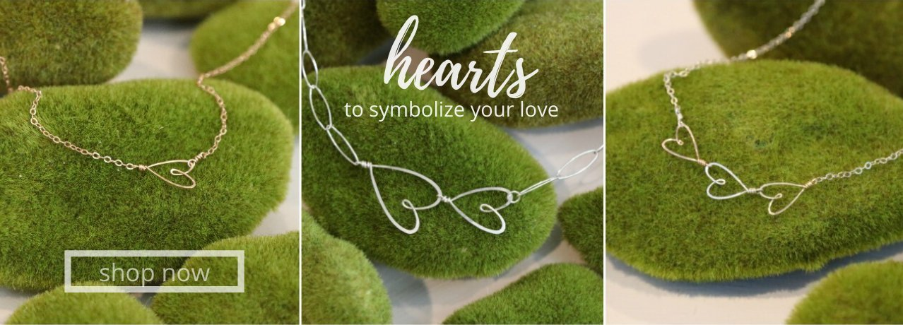 Beth Jewelry heart collection
