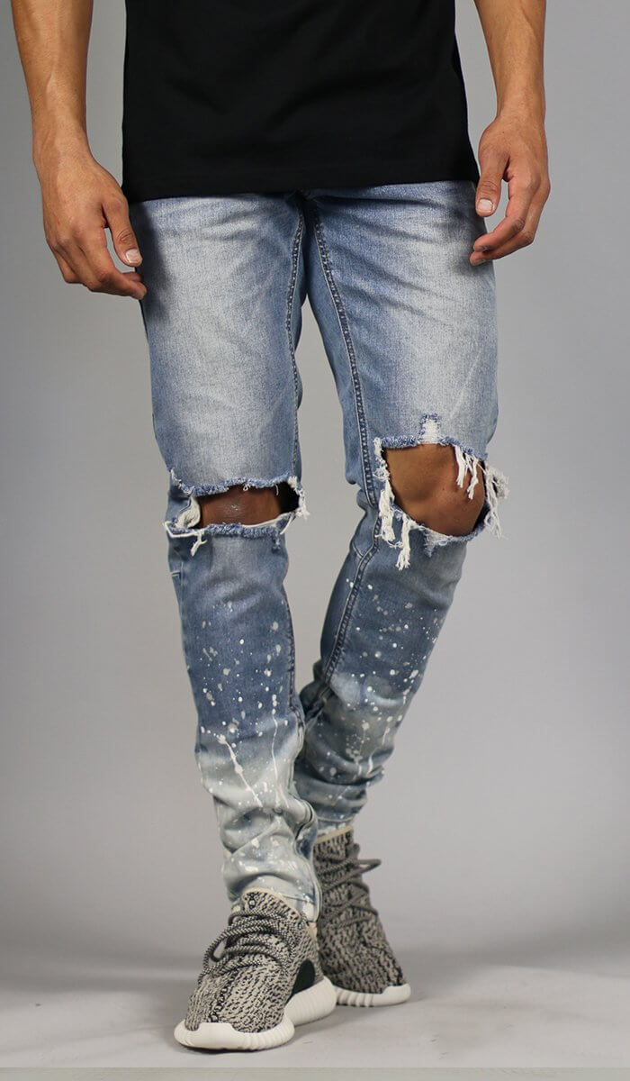 Flame Nate Zipper Jean