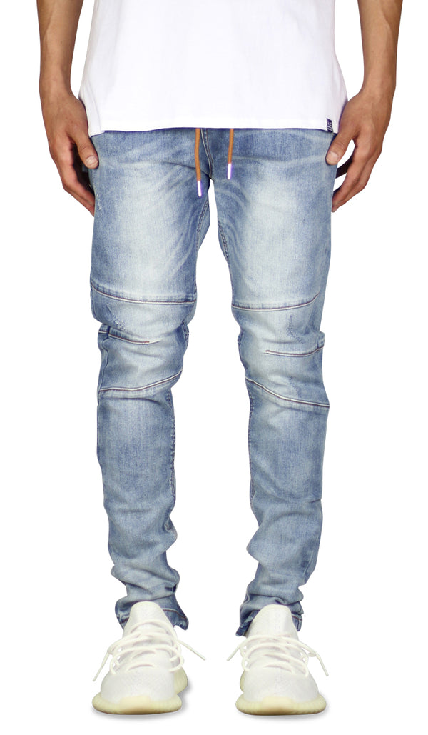 M.Blue Gnu Zipper Jean