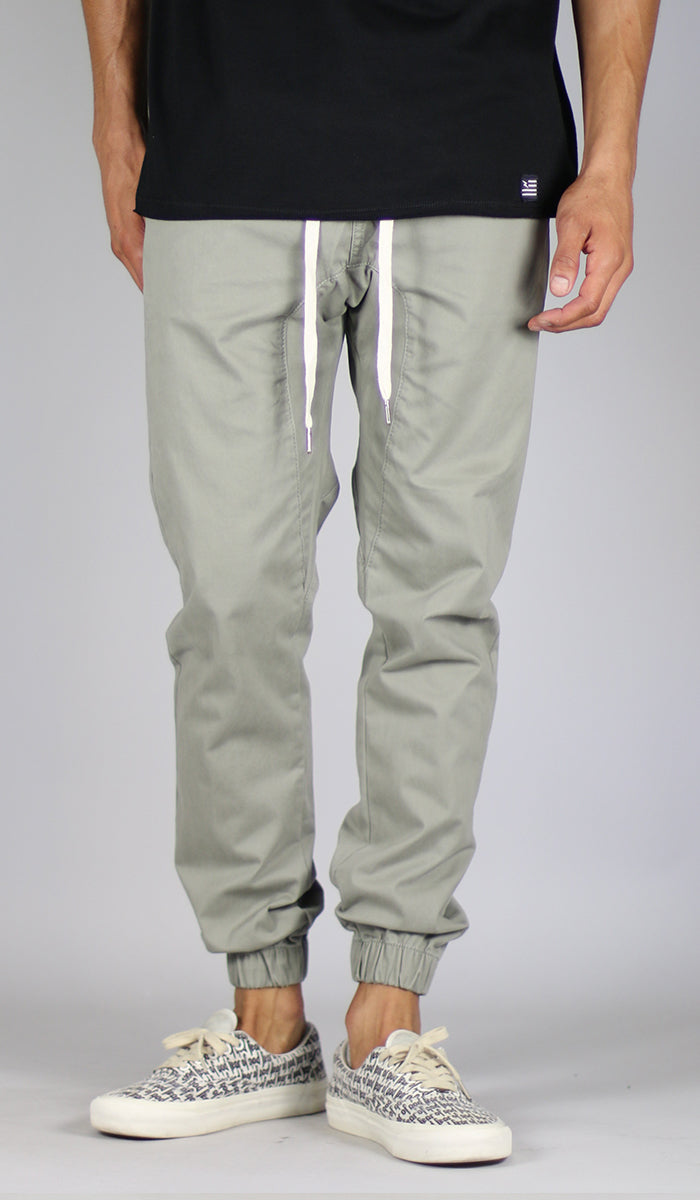bc3bb2c3a35c0a LT. Olive Drop Crotch Jogger - HYPER DENIM