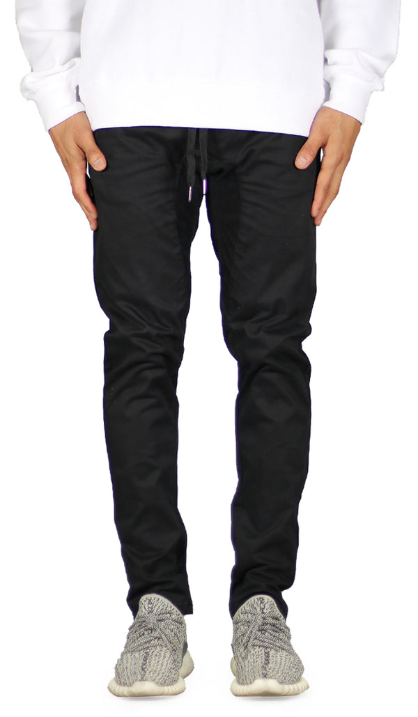 Black  Drop Crotch Pant