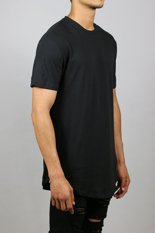 Zipper Long T-Shirts