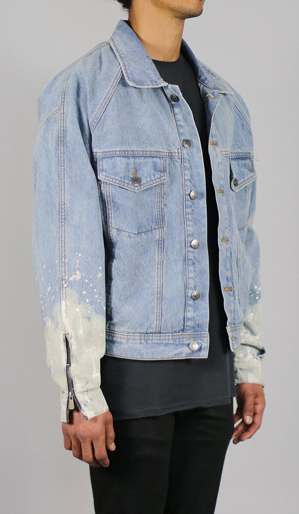 Flame Blue Denim Jacket