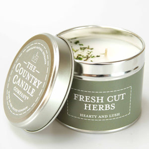 New! 'Fresh Cut Herbs' Hearty & Lush Fragranced Vegan Candle (GMO & Palm Oil Free)