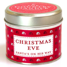 Load image into Gallery viewer, New! 'Christmas Eve' Santa's On His Way Fragranced Vegan Candle (GMO & Palm Oil Free)