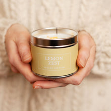 Load image into Gallery viewer, New! 'Lemon Zest' Punchy & Pure Fragranced Petals Vegan Candle (GMO & Palm Oil Free)