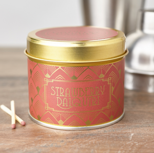 New! 'Strawberry Daiquiri' Fragranced Vegan Candle (GMO & Palm Oil Free)