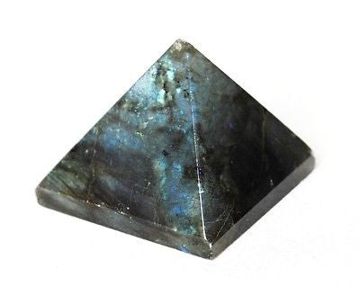 Labradorite Crystal Pyramid - Krystal Gifts UK