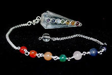 Load image into Gallery viewer, Clear Quartz Crystal Dowsing Pendulum - Krystal Gifts UK