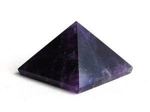 Amethyst Crystal Pyramid - Krystal Gifts UK
