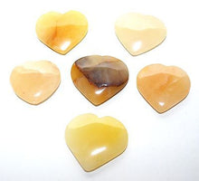 Load image into Gallery viewer, Yellow Jade Crystal Heart - Krystal Gifts UK