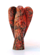 Load image into Gallery viewer, Natural Unakite Crystal Stone Polished Healing Angel Figure