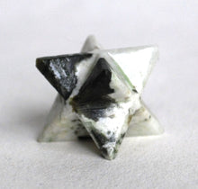 Load image into Gallery viewer, Rainbow Moonstone Crystal Merkaba Star - Krystal Gifts UK