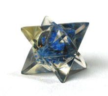 Load image into Gallery viewer, Lapis Lazuli Crystal Orgone Merkaba Star - Krystal Gifts UK