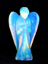 Load image into Gallery viewer, Opalite Hand Carved Crystal Angel - Krystal Gifts UK