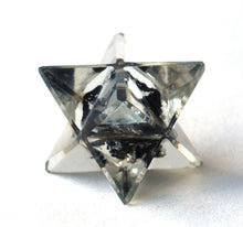 Load image into Gallery viewer, Black Tourmaline Crystal Orgone Merkaba Star - Krystal Gifts UK