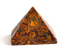 Load image into Gallery viewer, Calligraphy Stone (Miriam) Crystal Pyramid - Krystal Gifts UK