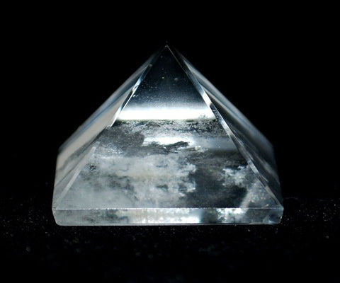 Clear Quartz Crystal Pyramid - Krystal Gifts UK