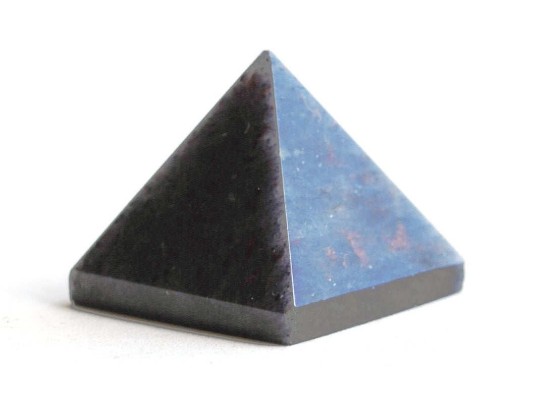 Blue Aventurine Crystal Stone Pyramid - Krystal Gifts UK