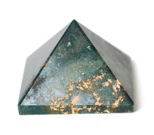 Load image into Gallery viewer, Bloodstone Crystal Stone Pyramid