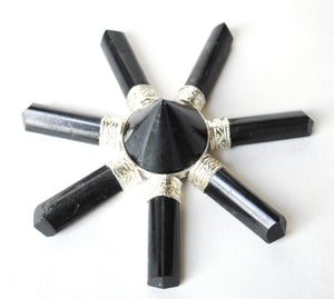 SALE Black Tourmaline Crystal Stone Energy Generator