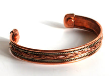 Load image into Gallery viewer, Magnetic Copper Bracelet Style 1