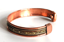 Load image into Gallery viewer, Magnetic Copper Bracelet Style 3